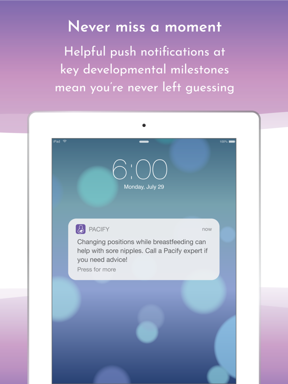 Pacify: Helping New Parents screenshot