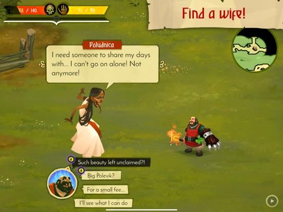 Yaga The Roleplaying Folktale Screenshots