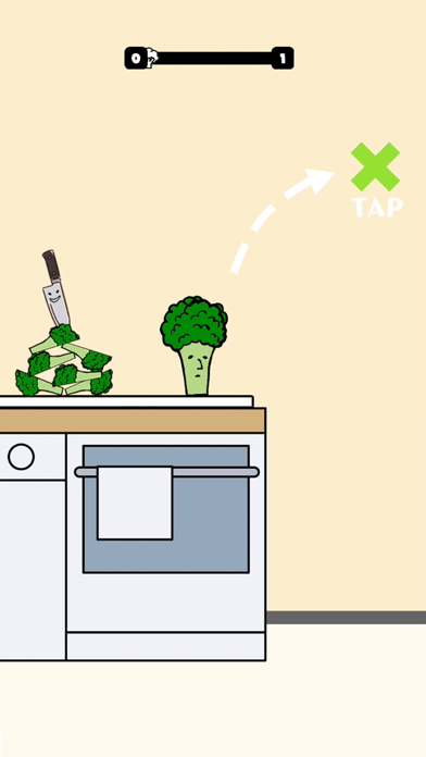 Broccoli Jump! screenshot 1