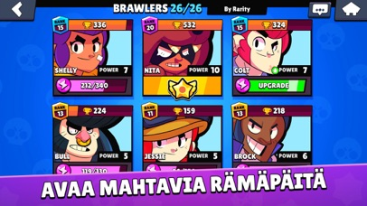 Screenshot for Brawl Stars in Finland App Store
