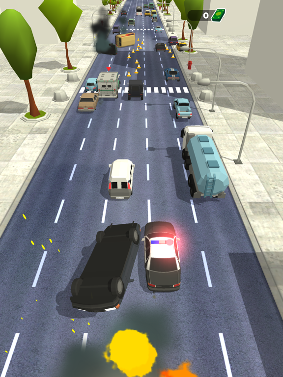 Police Chase - Hot Highways screenshot 10