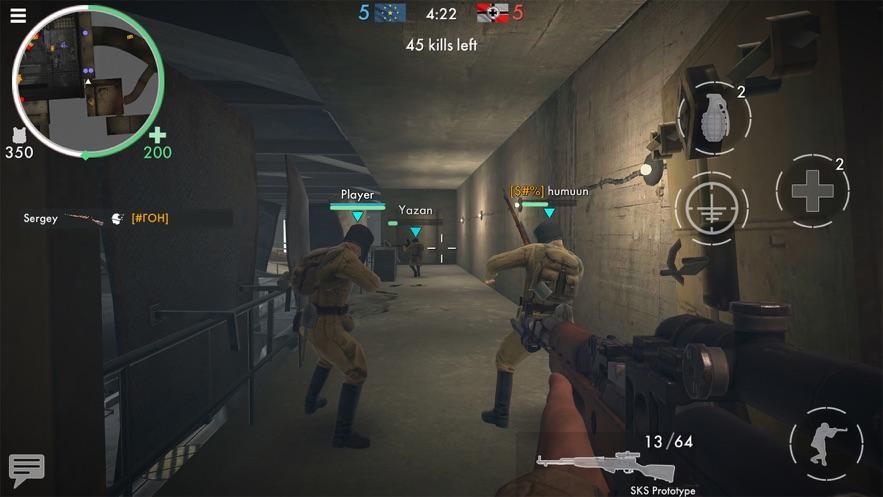 《世界战争 - 英雄》:第一人称二战射击游戏! App 截图