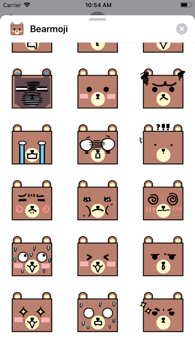 Bearmoji's screenshot 3