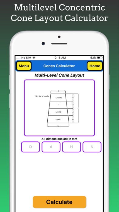 Cones Calculator screenshot 6