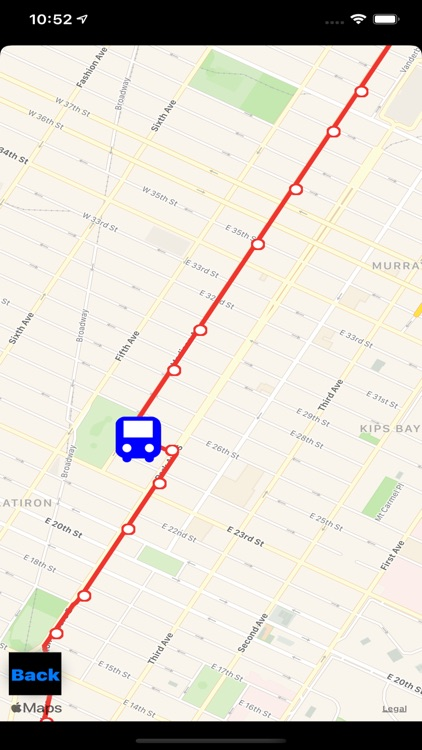 Bus NYC in 3D City View Lite screenshot-6