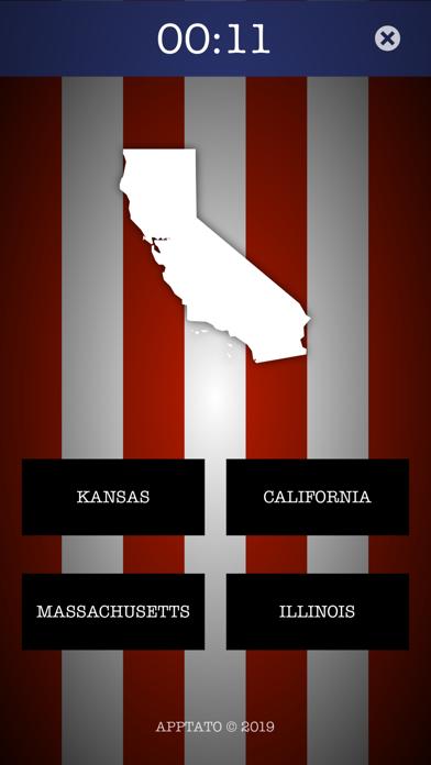 US States Test screenshot two