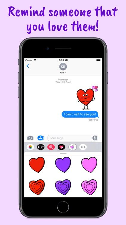 I Heart U Animated Stickers screenshot-3