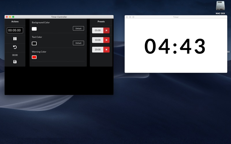 Events Timer for Mac