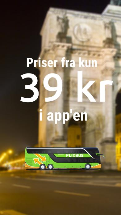 Screenshot for FlixBus - bus travel in Europe in Denmark App Store