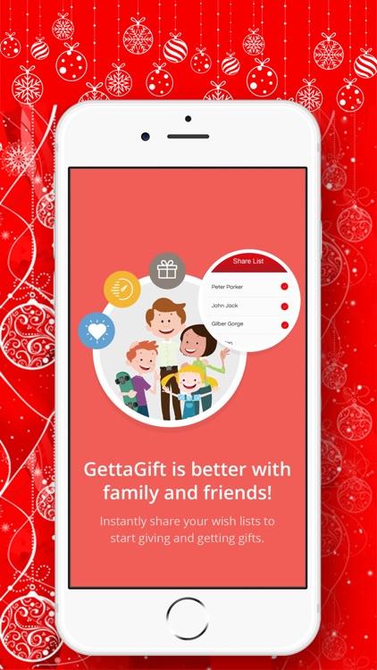GettaGift Wishlist Gifting app screenshot-9