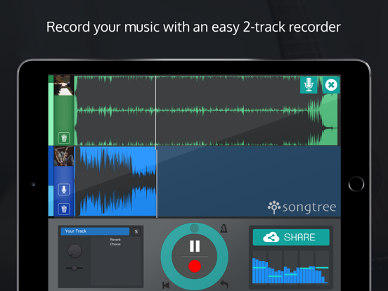 Songtree Music Maker - Sing, Jam & Record screenshot