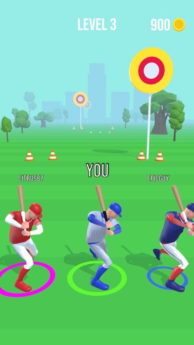 Baseball Race screenshot 1