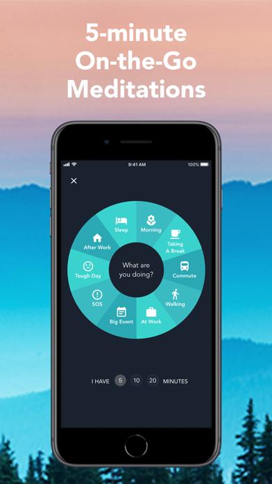 Simple Habit Daily Meditation Screenshot