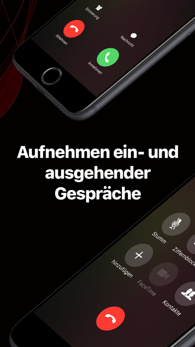 Screenshot for TapeACall Pro in Austria App Store