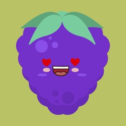 grapes stickers app 2020