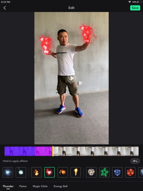 SuperFX: Effects Video Editor screenshot 5
