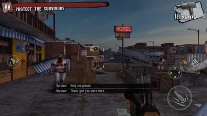 Screenshot for Zombie Frontier 3: Sniper FPS in Germany App Store