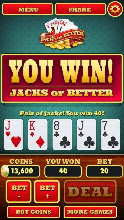Video Poker ( Jacks or Better)