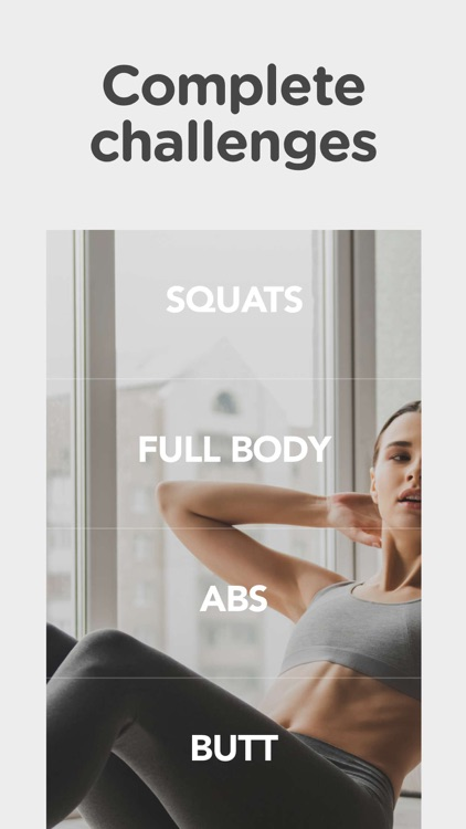 30 Day Squat And Abs Challenge screenshot-3
