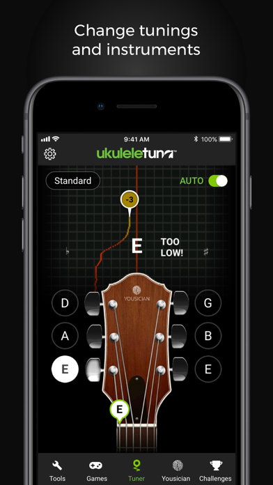 Ukulele Tuna: Ukulele Tuner screenshot three