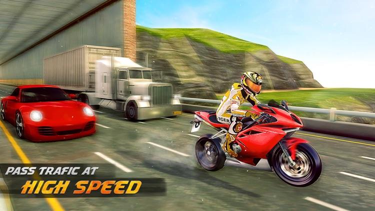 Highway Bike Racing Simulator screenshot-3