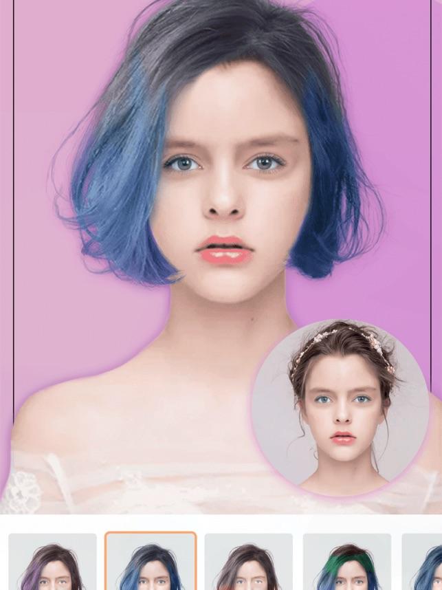 Haarfarbe ausprobieren app - Beliebte Frisuren 2020