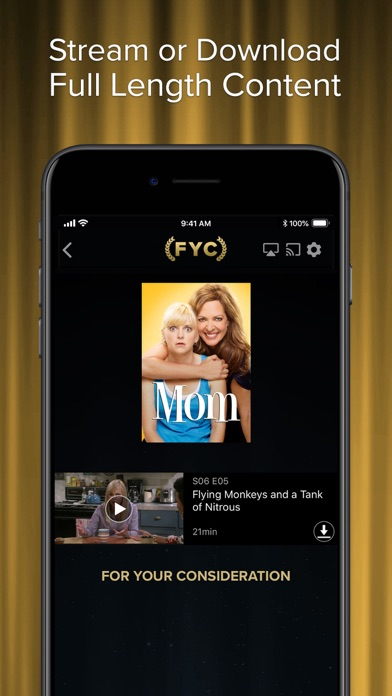 WarnerMedia Awards Screeners Screenshot