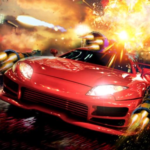 Death Road Race: Car Shooting