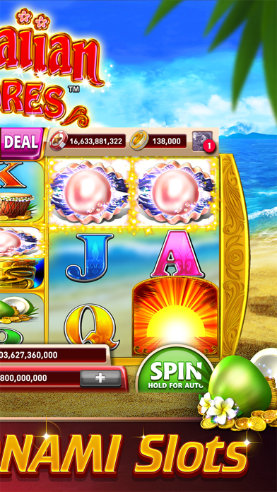 my KONAMI - Real Vegas Slots Screenshot