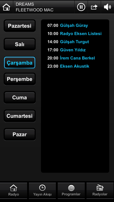 Radyo Eksen screenshot two