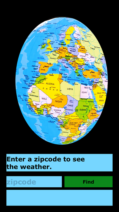 Rotating Globe screenshot 5