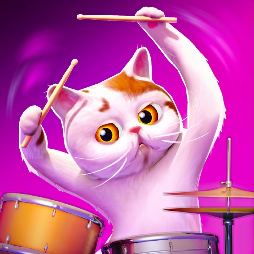 Cat Drummer Legend  - Toy