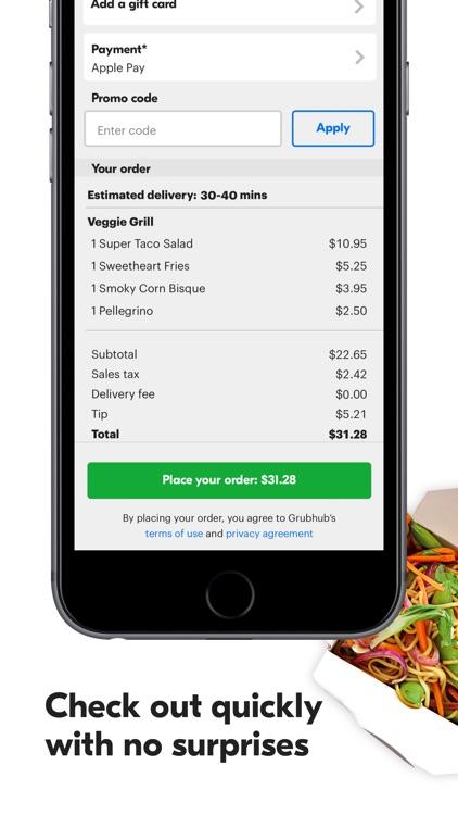 Grubhub: Local Food Delivery screenshot-3