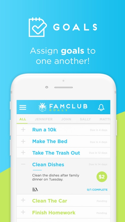 FamClub - Chores & Rewards