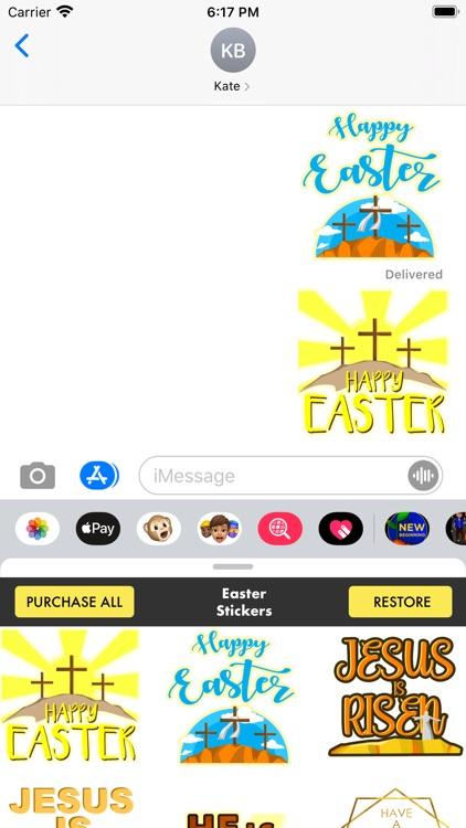 Easter Stickers - Christian screenshot-5