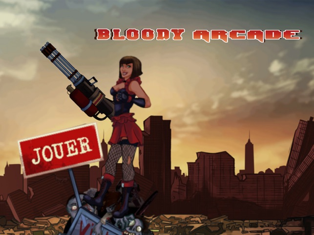 Bloody Arcade, game for IOS