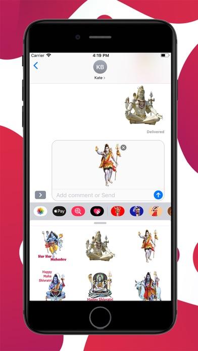 Mahashivratri Stickers screenshot 3