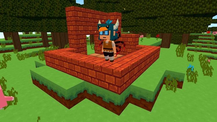 Cube build: pocket block craft screenshot-4