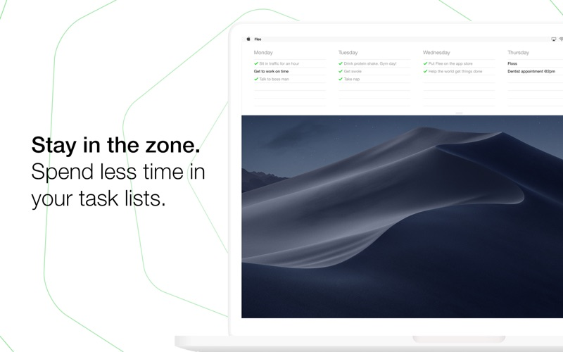 Flee Task Lists for Mac