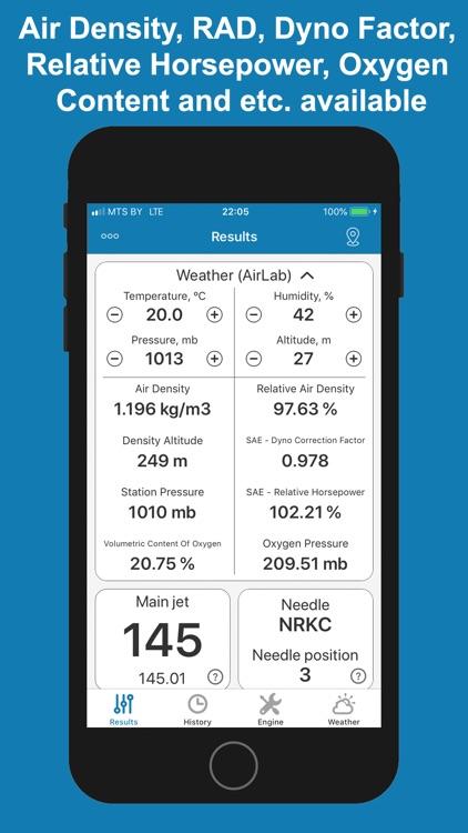 Jetting for TM Racing 2T Moto screenshot-4
