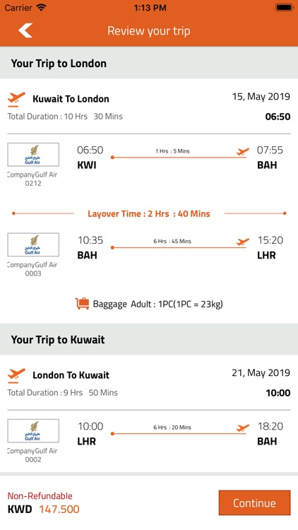 FlyBooking screenshot-7