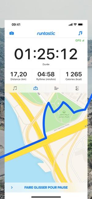 Runtastic PRO Course à pied Capture d'écran