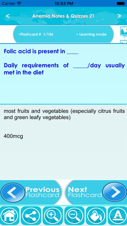 ANEMIA Exam Prep: Terms & Quiz screenshot-4