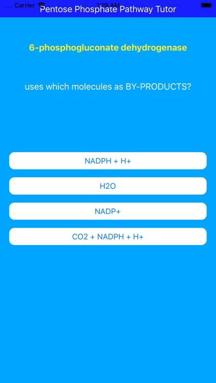 Pentose Phosphate Paths Tutor screenshot-4