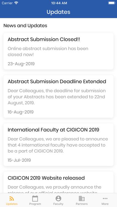 CIGICON 2019 screenshot 1