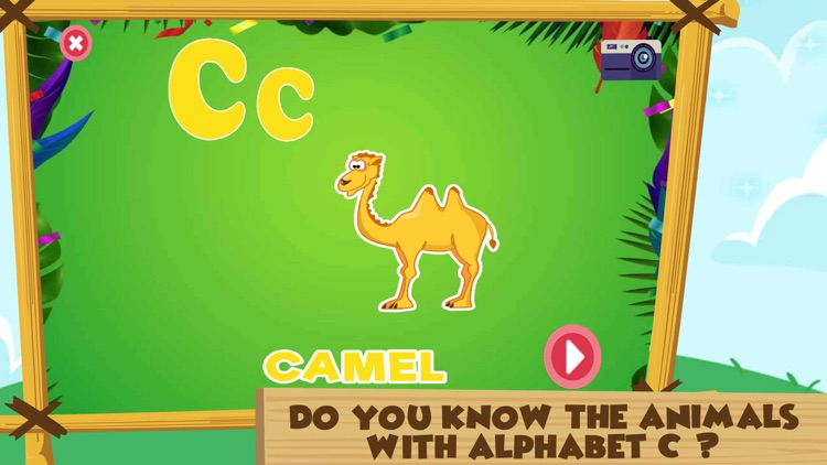 Learning Alphabet C Words Game screenshot-4