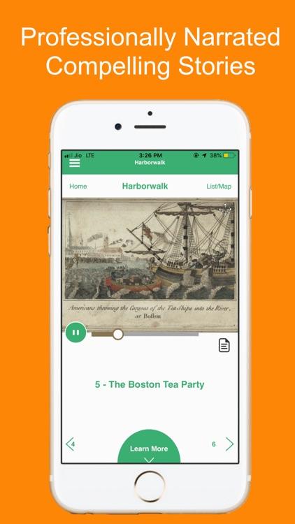 Harborwalk Boston Tour Guide screenshot-3