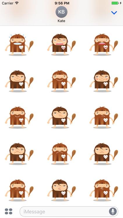Emoticon Cave - Stickers screenshot-4