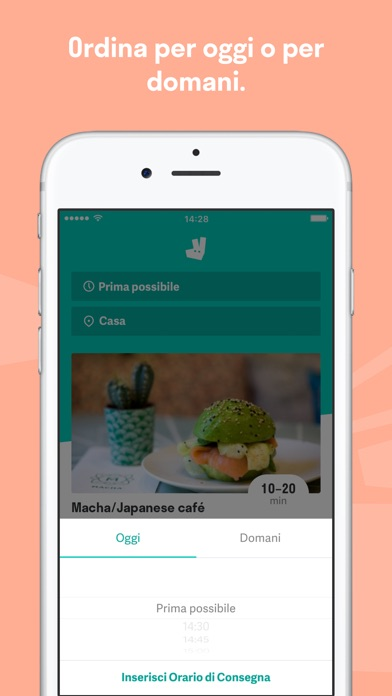 Screenshot for Deliveroo in Italy App Store