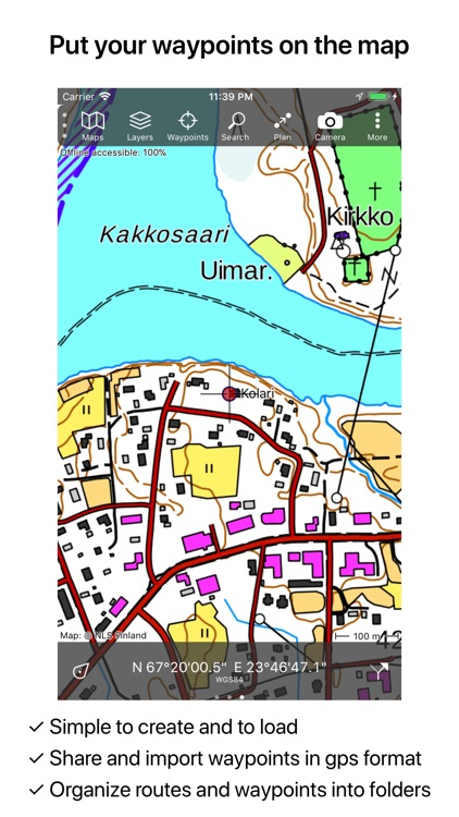 Topo GPS Finland screenshot-5